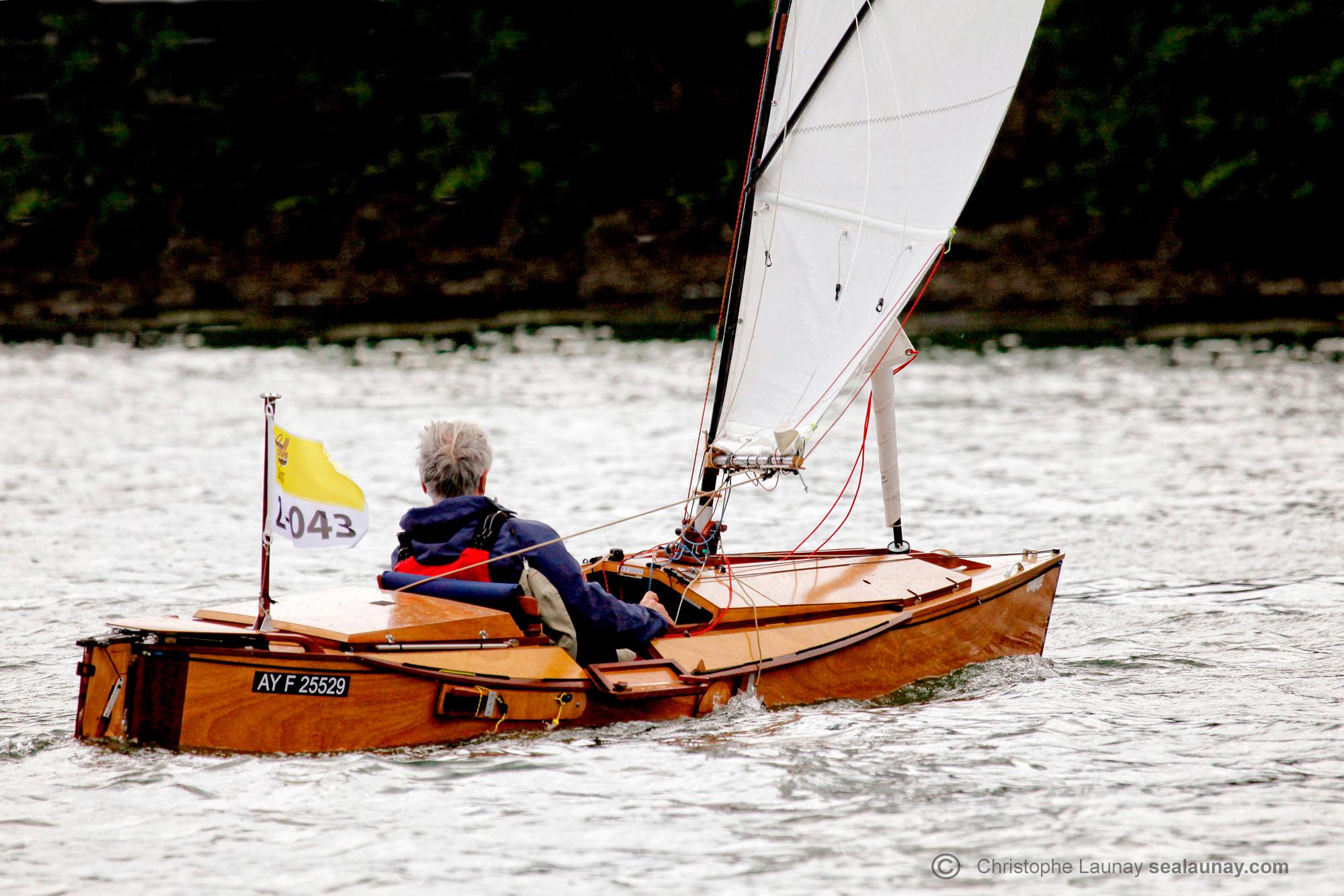 Camille Kayak à la semaine du Golfe de Morbihan