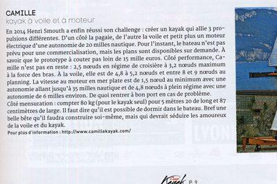 Canoë Kayak Magazine – Juillet/Août/Septembre 2016